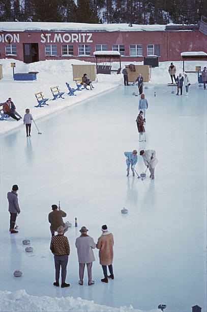 Curling At St. Moritz