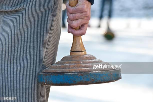 curling-stock-sport-Eisstockschießen Wettbewerb