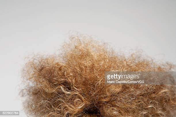 curly hair - frizzy stock pictures, royalty-free photos & images
