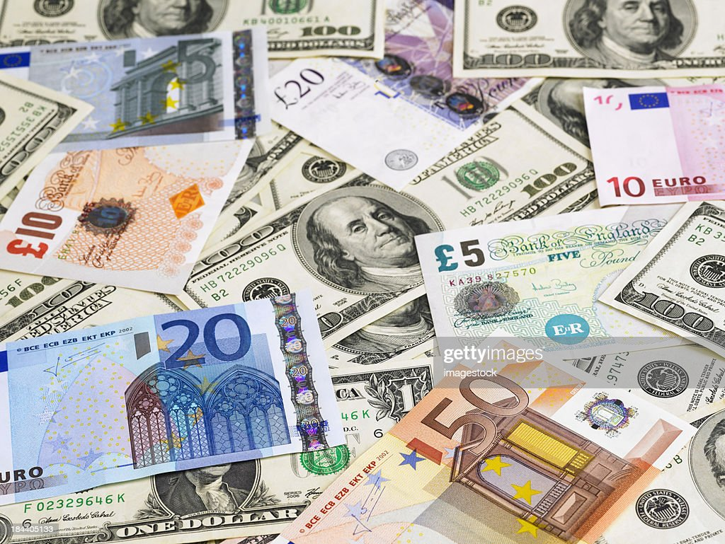 Currencies : Stock Photo