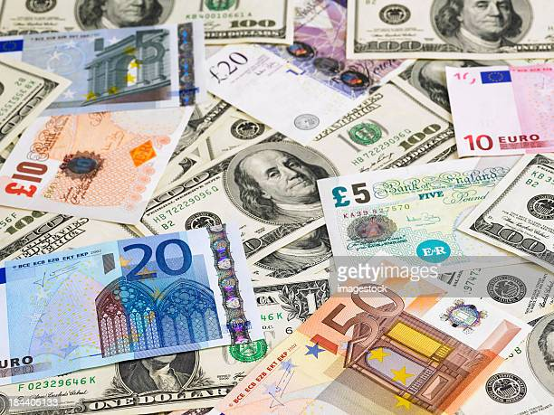 currencies - british pound sterling note stock pictures, royalty-free photos & images
