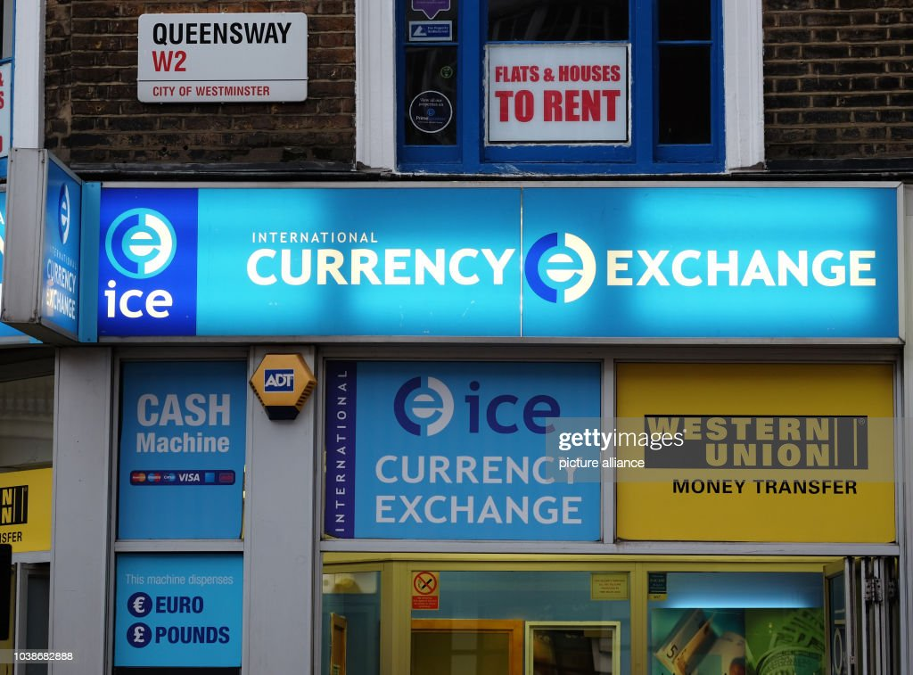 A Currency Conversion Business In London United Kingdom 17 March 2017 Photo