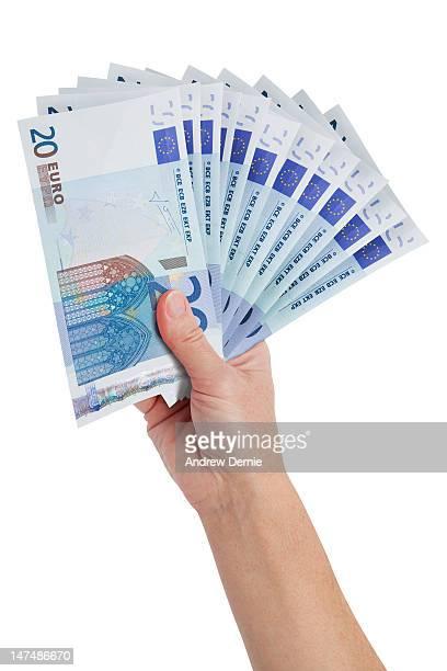 currency - euro - andrew dernie foto e immagini stock