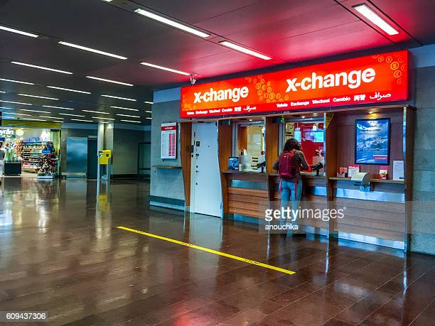 Currency exchange at Arlanda Airport, Stockholm