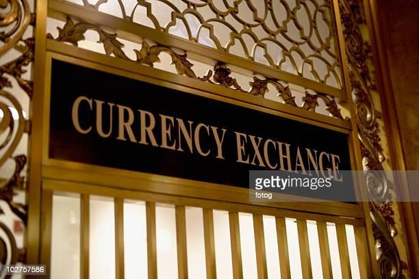 Currency exchange window