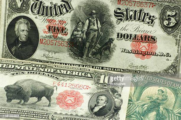 U.S currency from the past