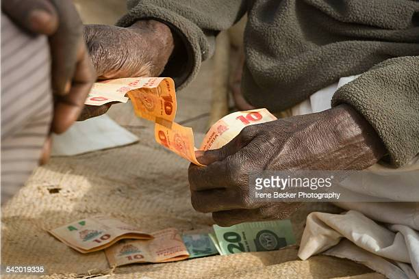currency - nigeria money stock photos and pictures