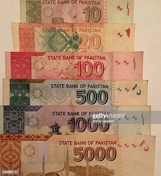 currency - pakistan currency stock photos and pictures
