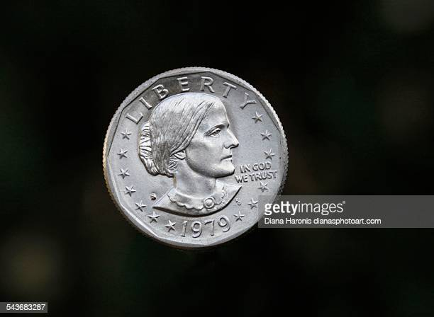 currency - susan b anthony stock photos and pictures