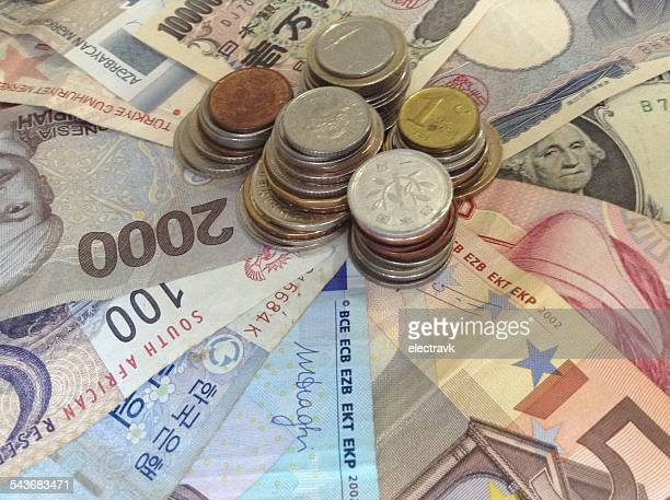 currency - south african currency stock photos and pictures