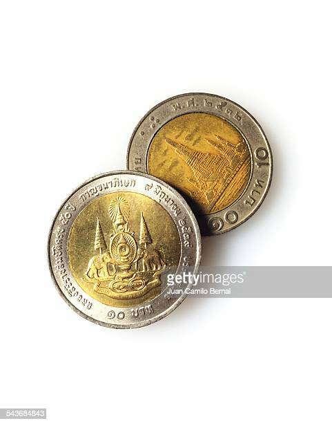 currency - thailandia stock photos and pictures