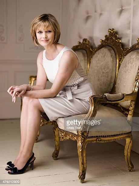 Current affairs tv presenter Julie Etchingham is photographed on April 21 2011 in London England
