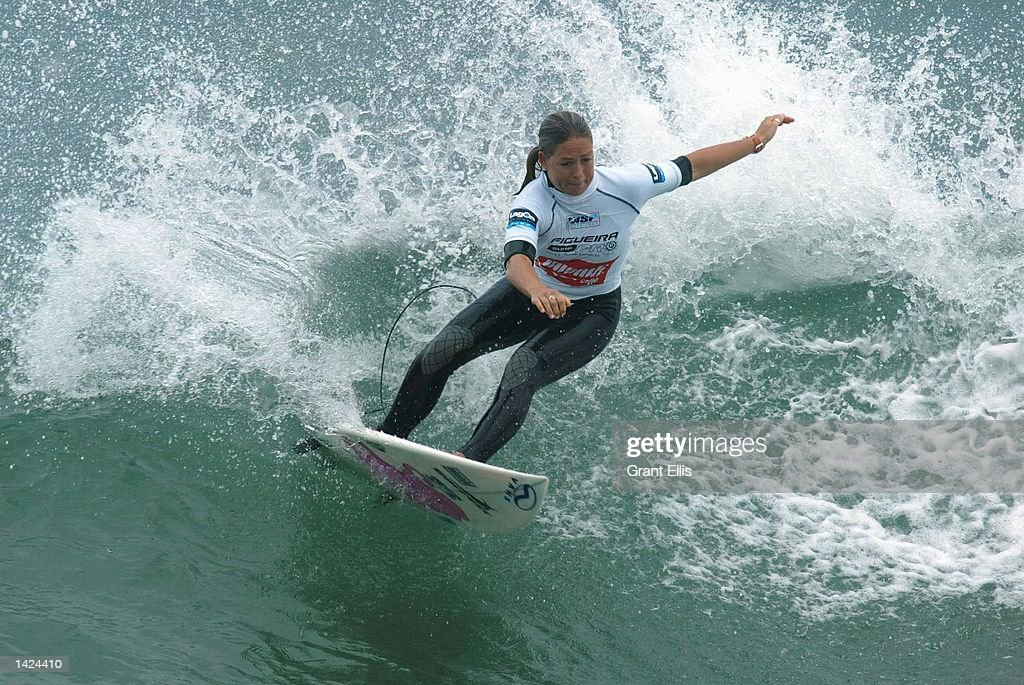 Serena Brooke of Australia in action : News Photo