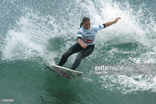 Current ASP world number 10 Serena Brooke of Australia lost out to Brazilian Jacqueline Silva in round three of the Figueira Pro at Figueira da Foz...