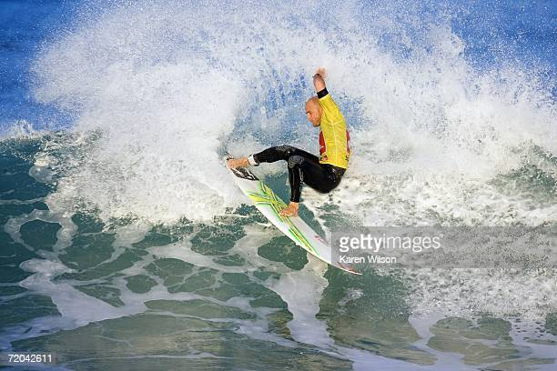 Current ASP world number 36 Jake Paterson of Yallingup WA Australia surfs during the Quiksilver Pro France event of the Fosters Men's ASP World Tour...