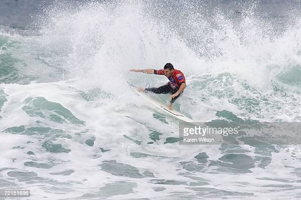 Current ASP world number four Joel Parkinson from Coolangatta Gold Coast Australia continued flawless form when he advanced to the quarterfinals of...