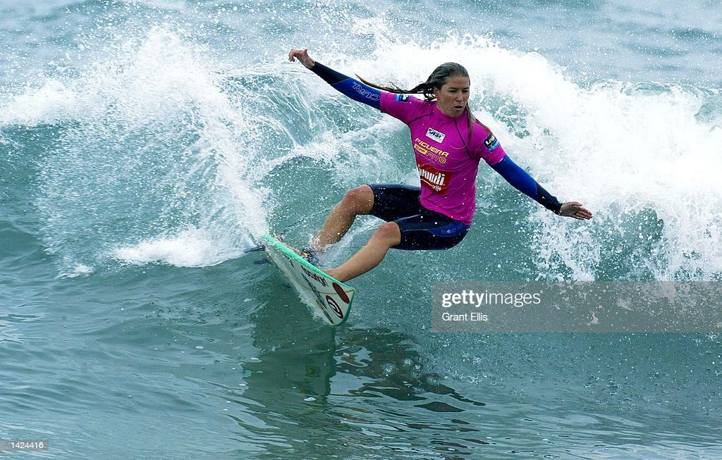 Jacqueline Silva of Brazil in action : News Photo