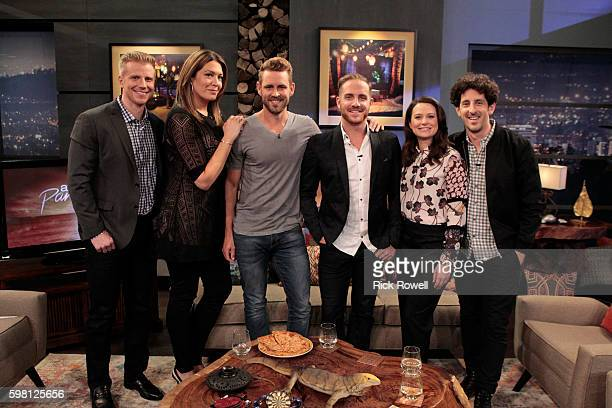 PARADISE Current 'Bachelor in Paradise' contestants Nick Vinny and Izzy as well as Katie Lowes and Adam Shapiro are panelists on ABC's hit aftershow...