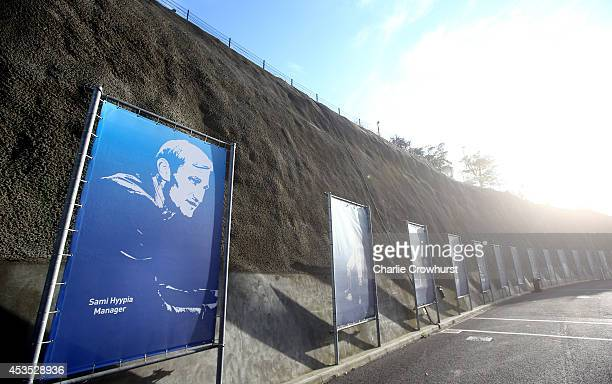 Current Brighton manager Sami Hyypia joins the Brighton hall of fame during the Capital One Cup First Round match between Brighton Hove Albion and...