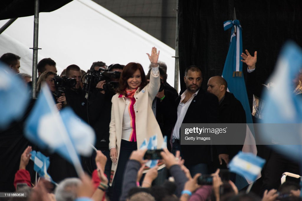 ARG: Alberto Fernandez and Cristina Fernandez First Joint Public Appearance