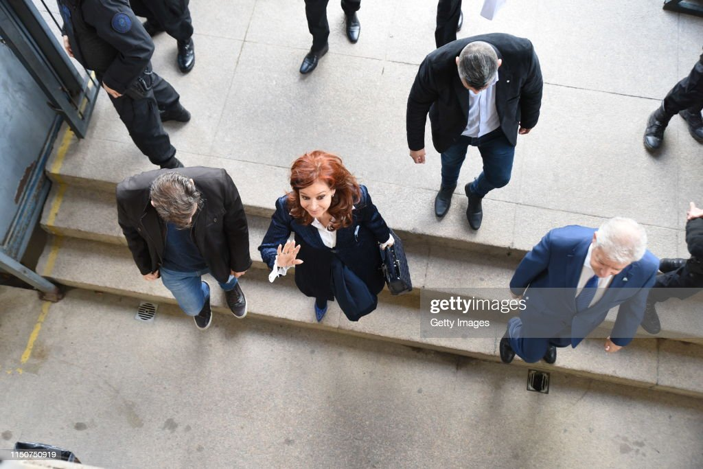 ARG: Cristina Fernandez Faces Trial on Alleged Corruption Case