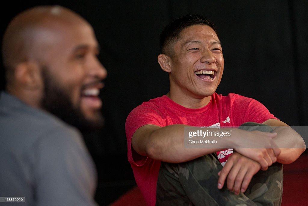 Demetrious Johnson UFC Media Opportunity