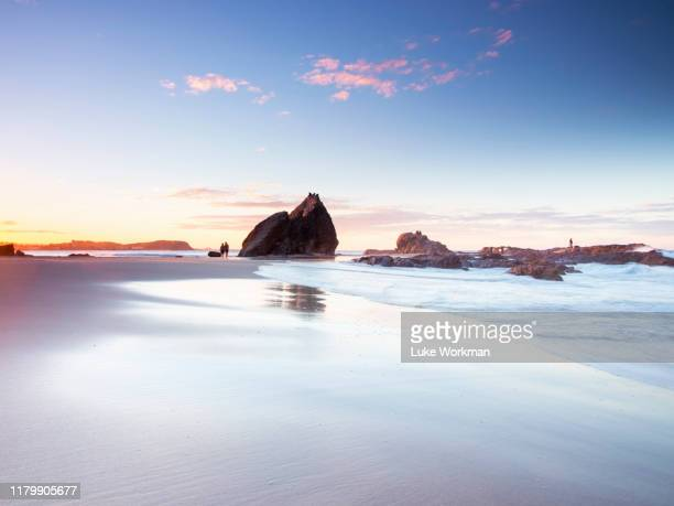 currumbin alley sunset - gold coast queensland stock pictures, royalty-free photos & images