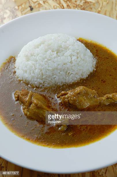 Curry of chicken