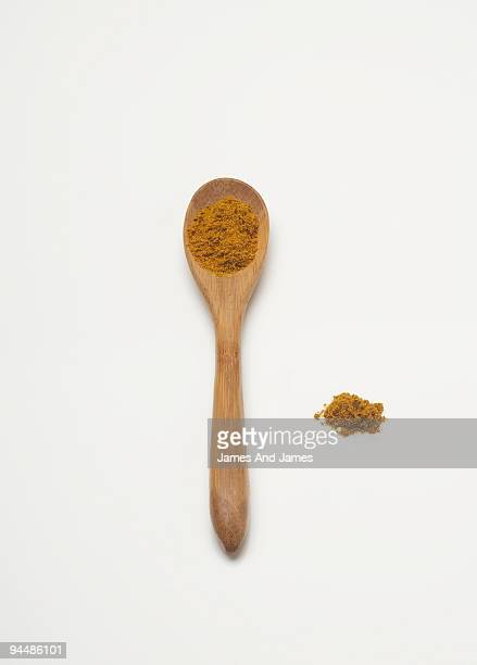 Curry on Wooden Spoon