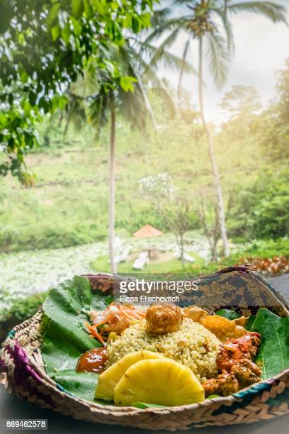 curry plate, sri lanka - sri lankan culture stock pictures, royalty-free photos & images