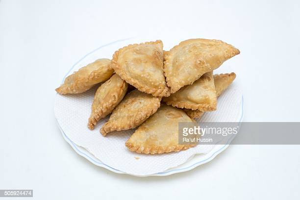 Curry Puffs, Deep Fried Malaysian,