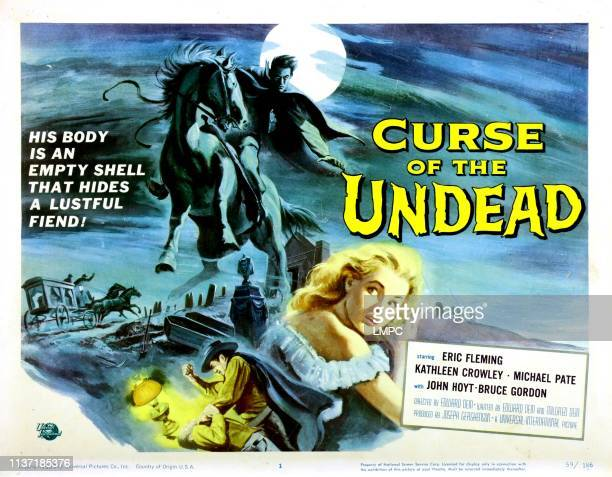 Curse Of The Undead poster Kathleen Crowley 1959