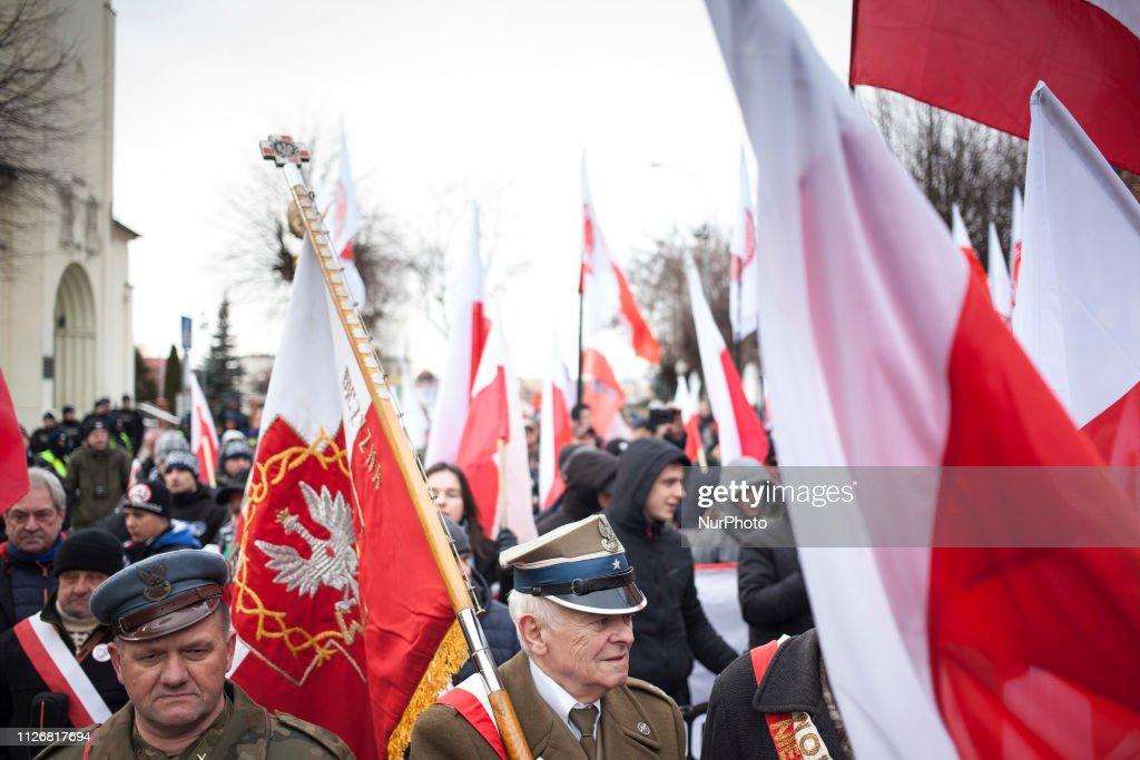 POL: Cursed Soldiers March In Hajnowka