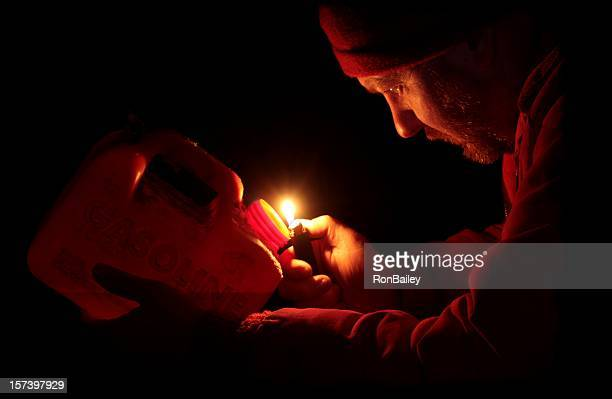 cursing the darkness - candle in the dark stock pictures, royalty-free photos & images