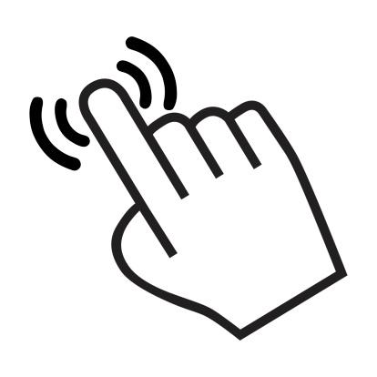 cursor hand icon 469517609
