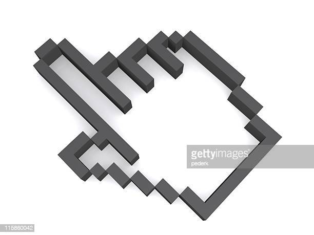 3d cursor - cursor stock pictures, royalty-free photos & images