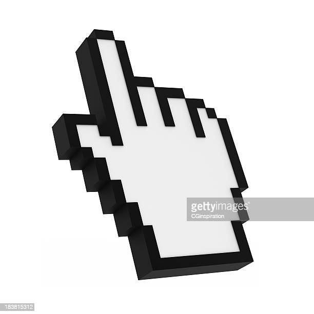 cursor - computer icon stock photos and pictures