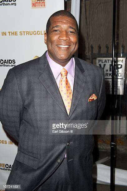Curt Menefee attends the 10th Annual Heroes In The Struggle Gala Concert on December 1 2010 in Hollywood California