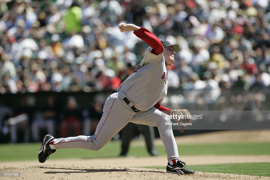 Boston Red Sox v Oakland Athletics : News Photo