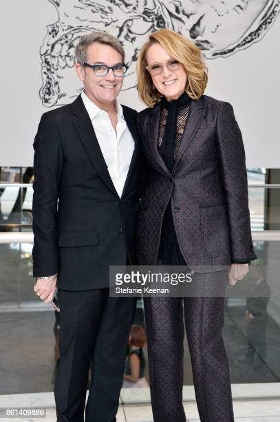 Curt Shepard and Ann Philbin at the Hammer Museum 15th Annual Gala in the Garden with Generous Support from Bottega Veneta on October 14 2017 in Los...