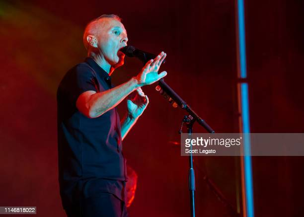 Curt Smith of Tears For Fears performs during day 1 of Shaky Knees Music Festival at Atlanta Central Park on May 03 2019 in Atlanta Georgia Photo by...