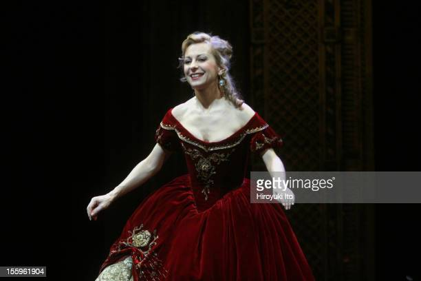 Curtain call at the 125th Anniversary Gala at the Metropolitan Opera House on Sunday night March 15 2009This imageNatalie Dessay