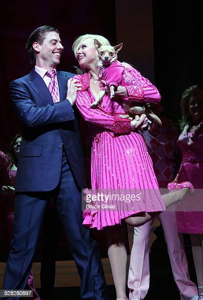 Curtain Call during Opening Night of Legally Blonde on Broadway April 29 2007 at The Palace Theatre and Cipriani 42nd Street in New York City New...