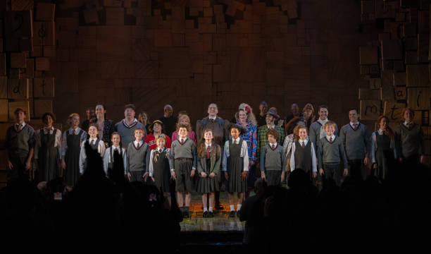 """GBR: """"Matilda The Musical"""" Reopens In The West End - Curtain Call"""