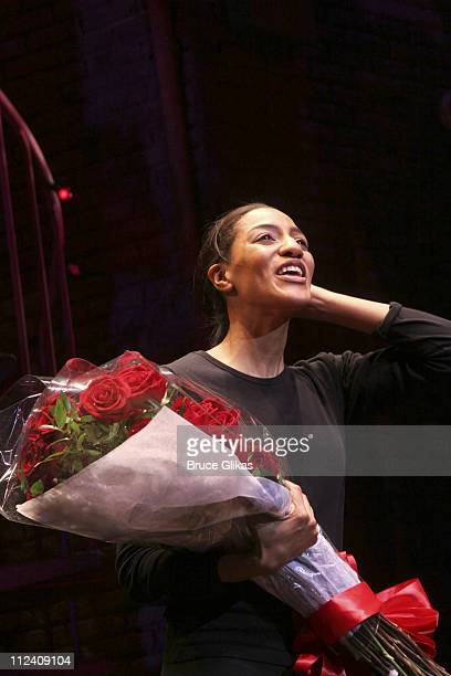 Curtain Call featuring Sarah Jones during Sarah Jones' Bridge and Tunnel Broadway Opening Night Curtain Call and Party at The Helen Hayes Theater...