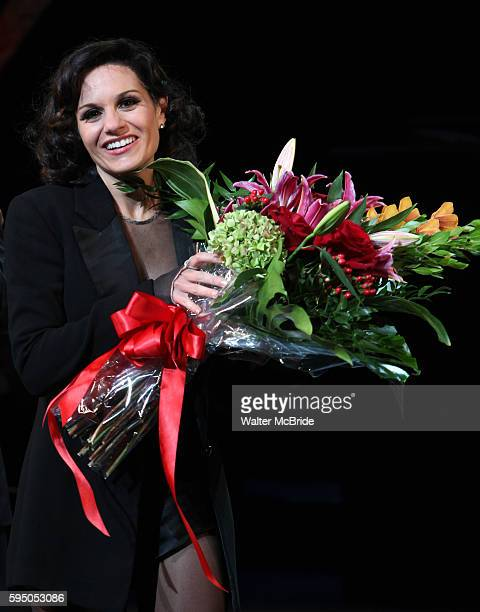 Curtain Call - Kara DioGuardi makes her Broadway Debut as Roxie Hart in 'CHICAGO' on Broadway at the Ambassador Theatre in New York City.