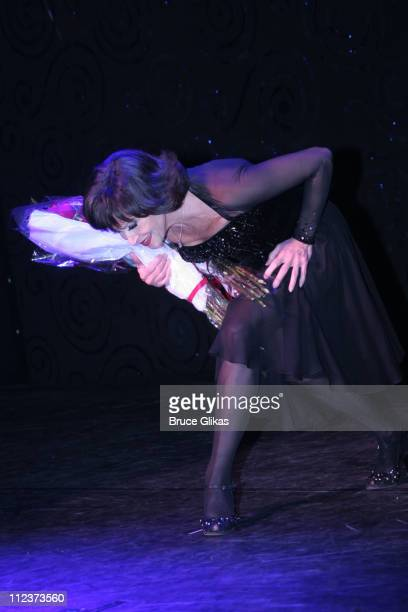 Curtain Call of Chita Rivera during 'Chita Rivera The Dancer's Life' Broadway Opening Night After Party at The Gerald Schoenfeld Theatre then The...