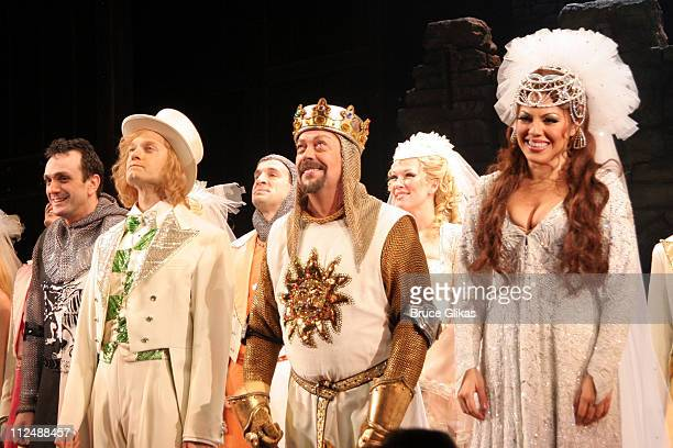 Curtain Call with Hank Azaria David Hyde Pierce Tim Curry and Sara Ramirez