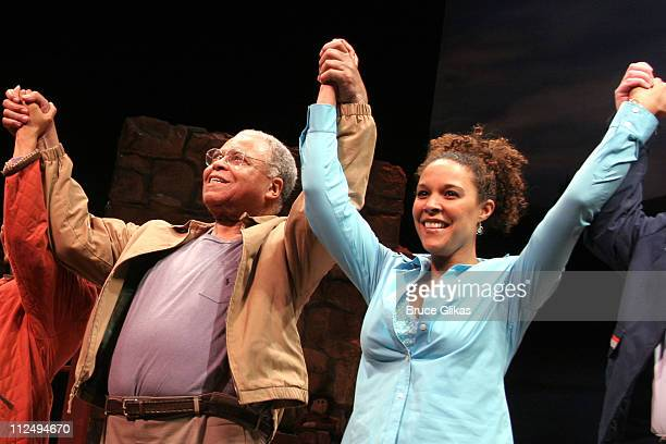 Curtain Call with James Earl Jones and Linda Powell
