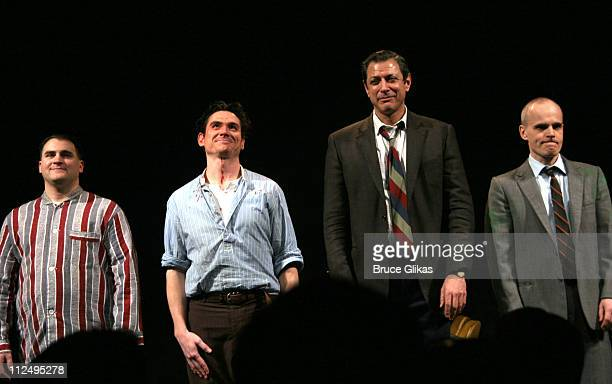 Curtain Call with Michael Stuhlbarg Billy Crudup Jeff Goldblum and Zeljko Ivanek